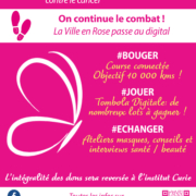 Affiche La Ville En Rose 2020 Montrouge