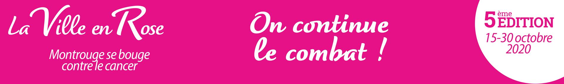 La ville en rose 2020 Montrouge